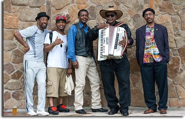 Picture of Nathan & the Zydeco Cha-Chas band